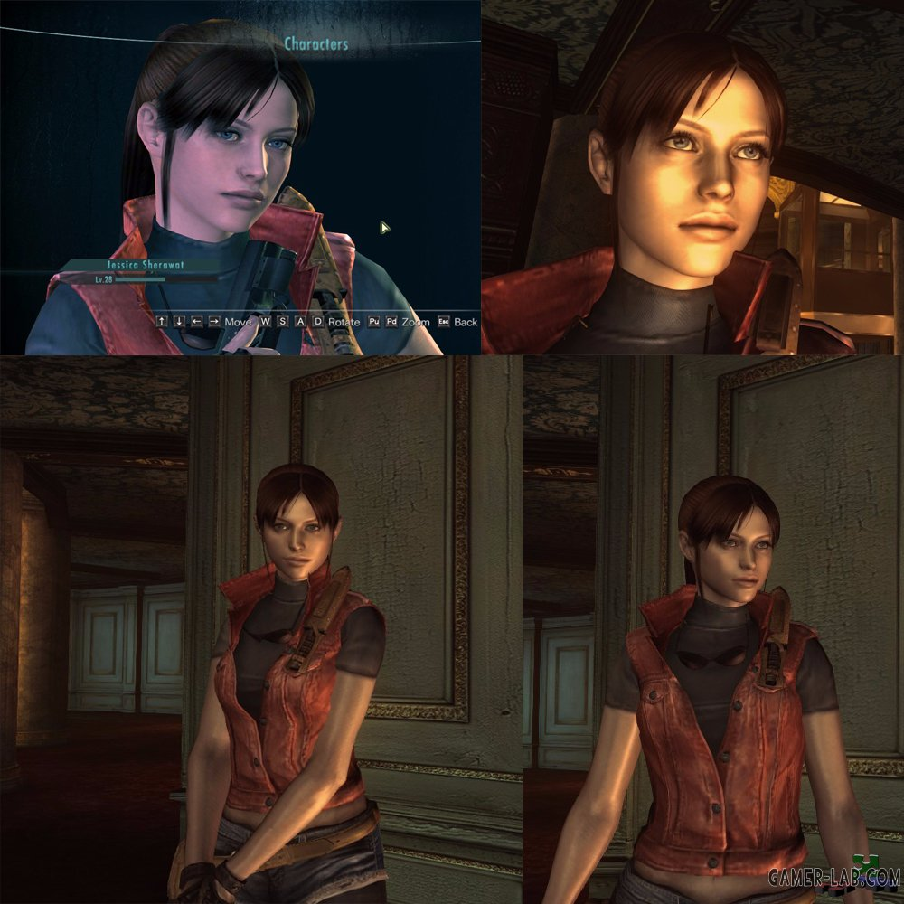 RE2 DSC Claire + Preview model