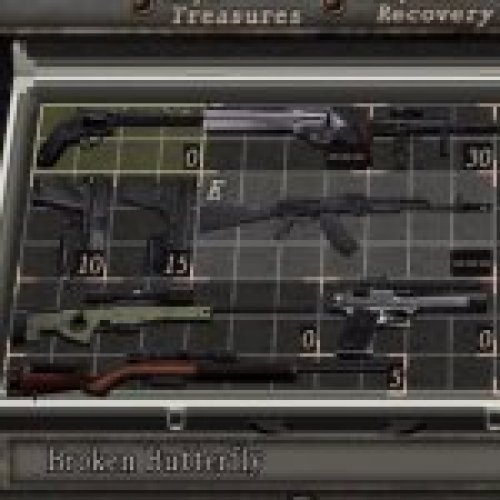 RE4 Miscellaneous Weapon Pack (on CS model)
