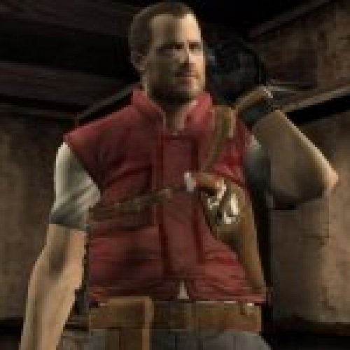 RE4 UHD Barry Burton