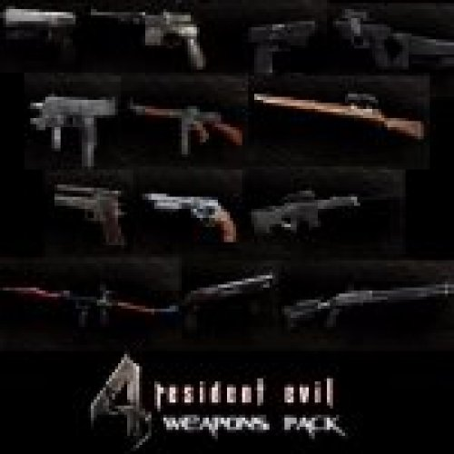 RE4 Weapons Pack