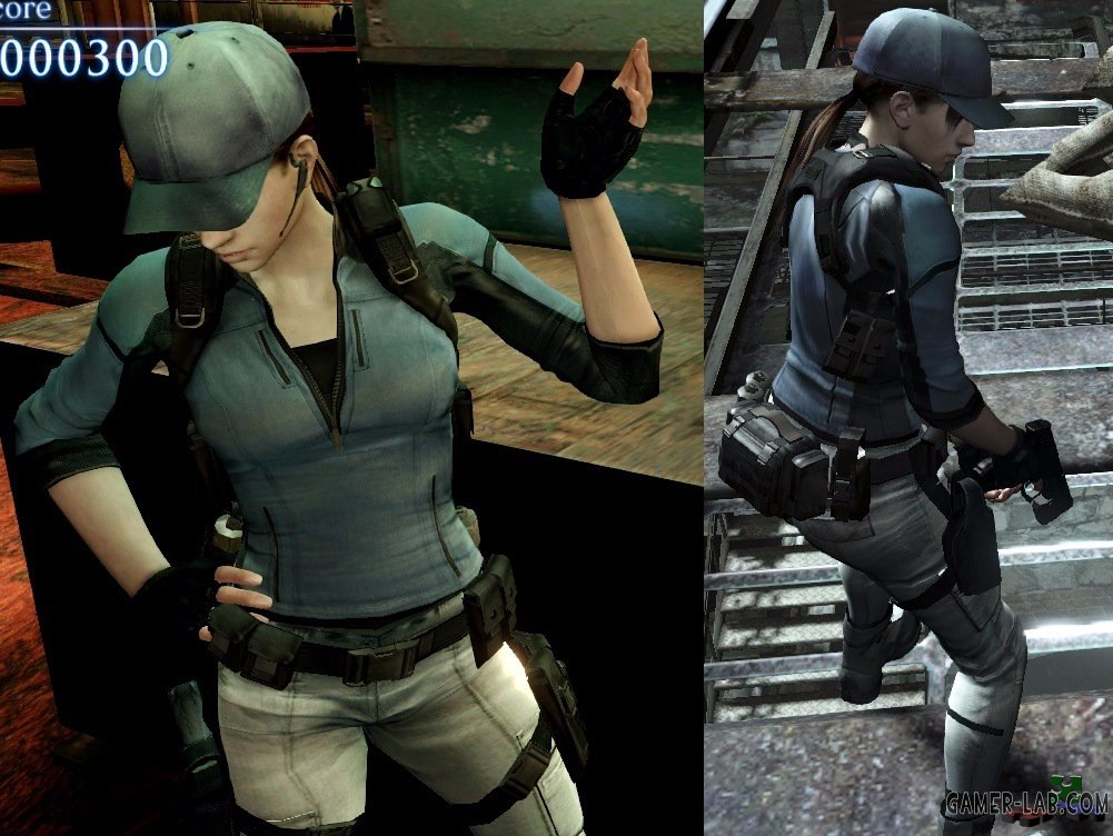RE 5 LiN Jill - Replace Helena