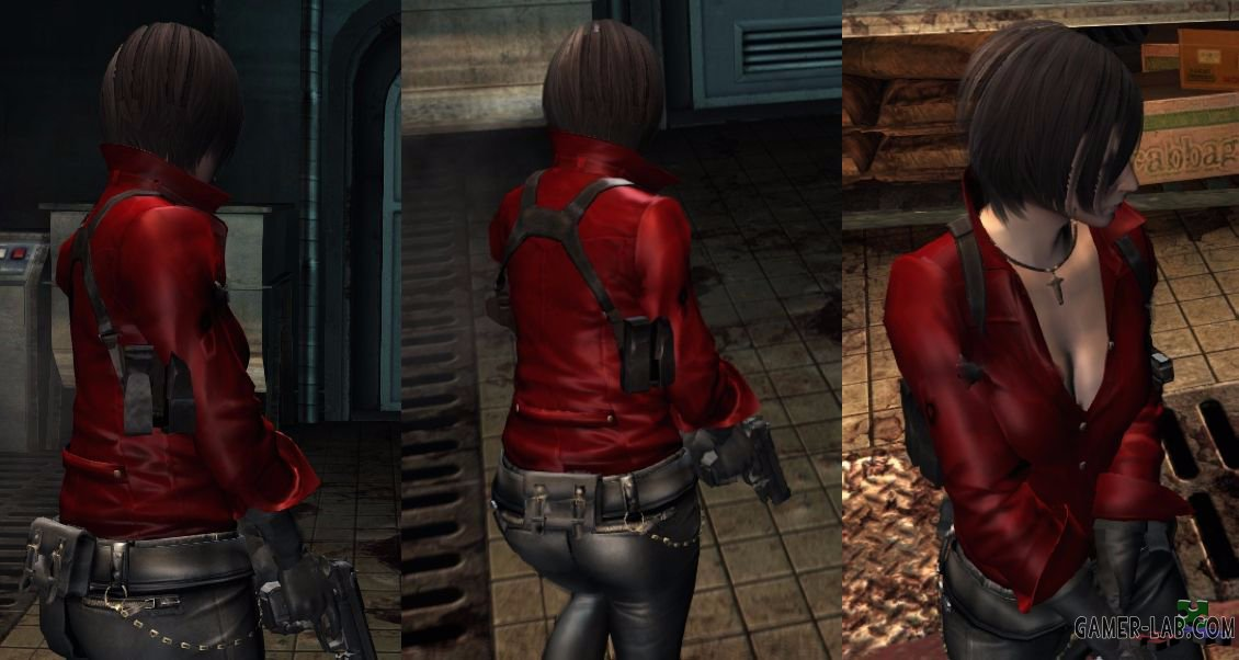 RE6 Ada Wong - Jill Replacer