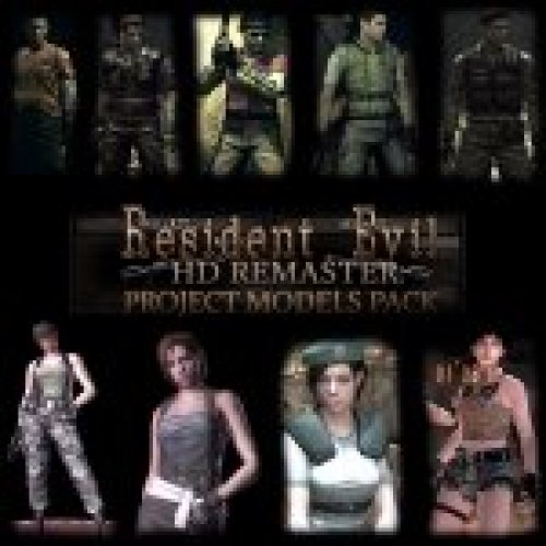 RE HD Remaster Project Models Pack