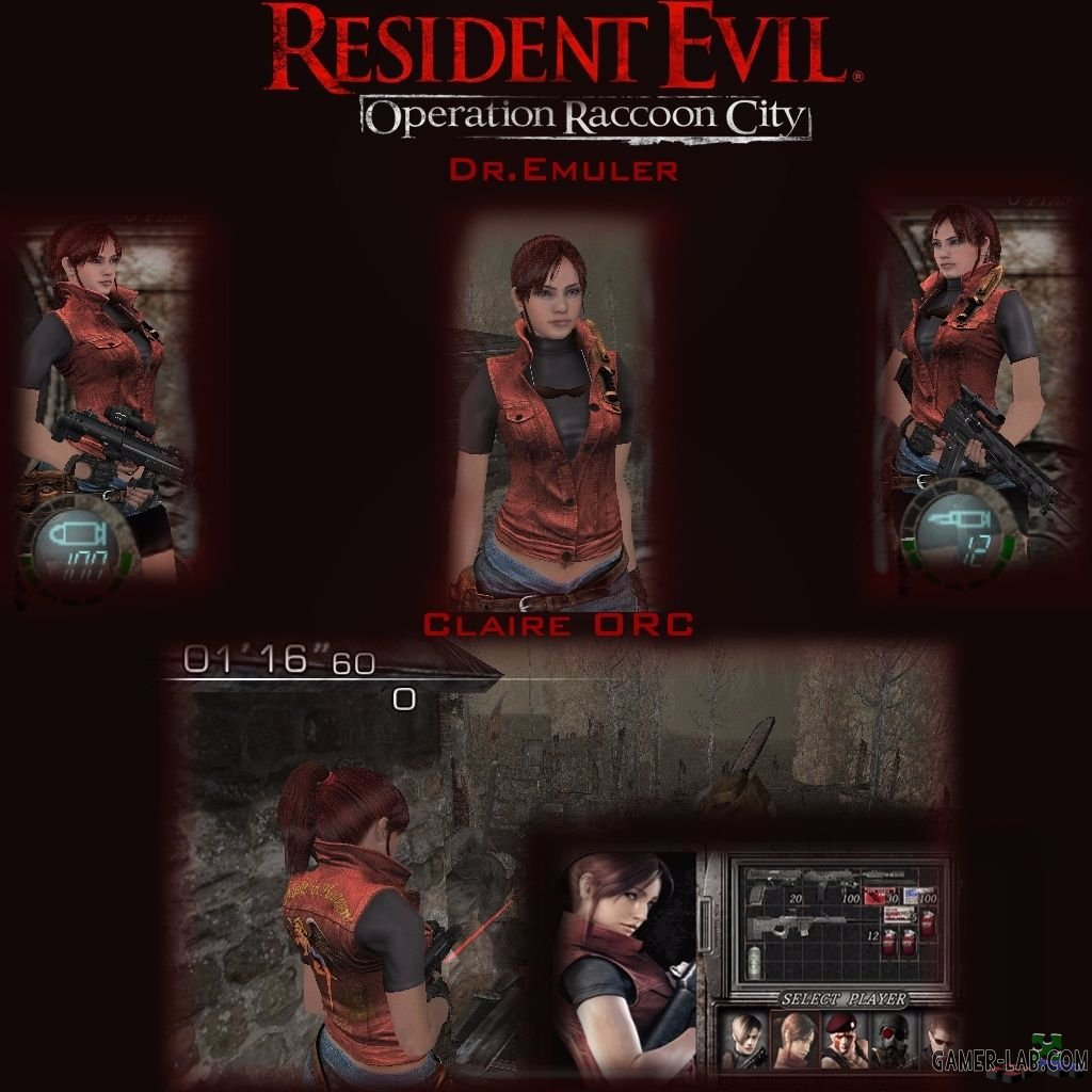 RE ORC Claire Redfield (Merc)
