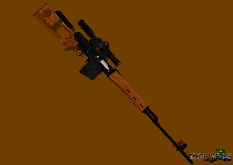 S.T.A.L.K.E.R. SVD with Wood Skin
