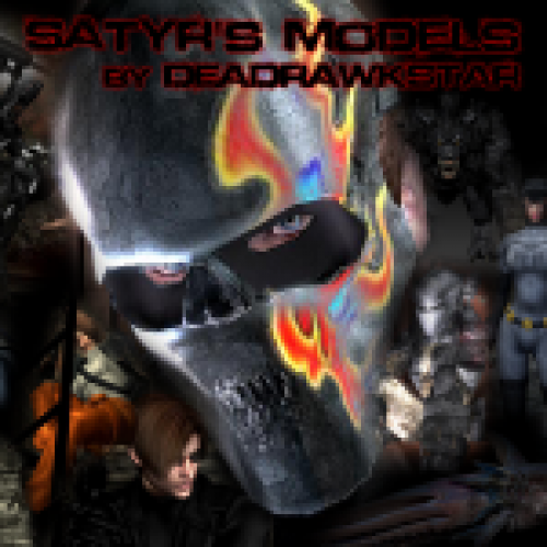 Satyr's Models Pack by Deadrawkstar