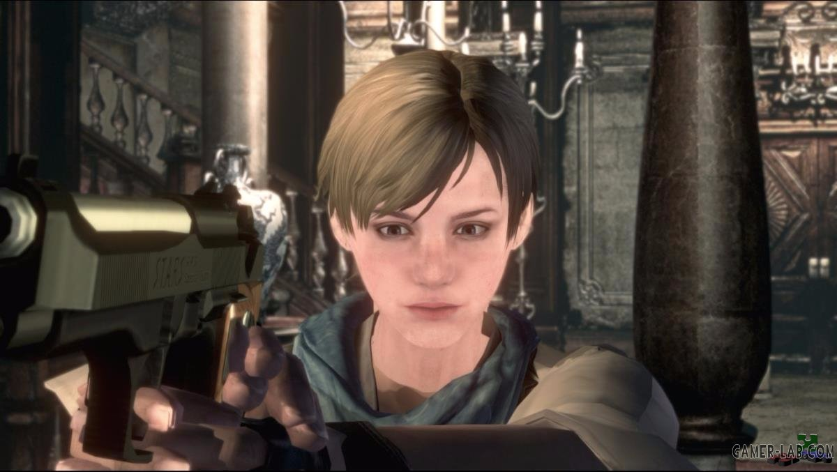 Sherry Birkin (Asia) Over Jill BSAA