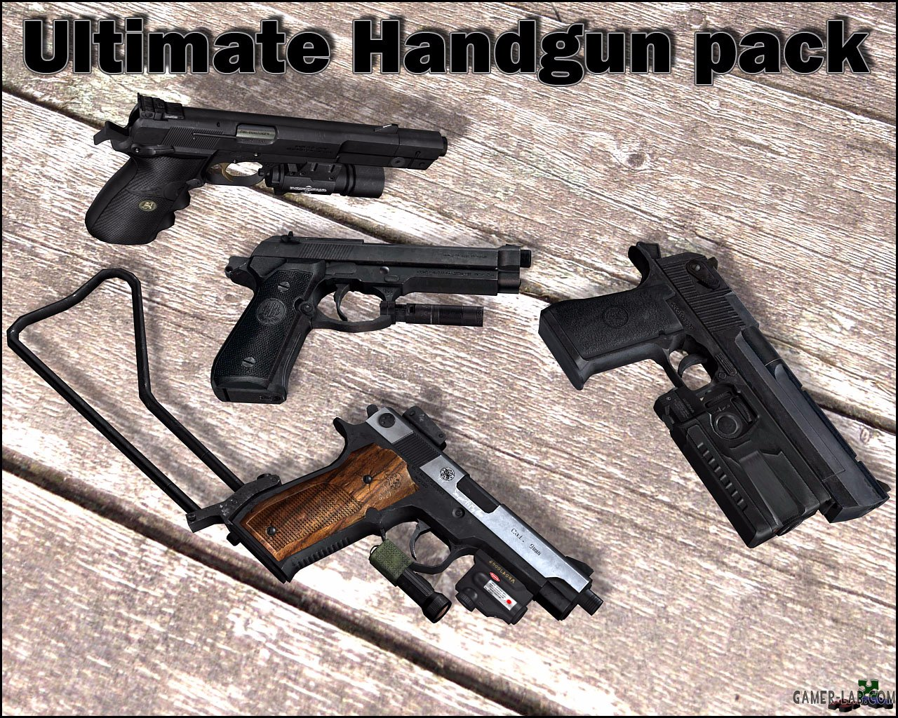 Ultimate Handgun Pack