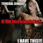 RE 1996 Voice Acting Mod