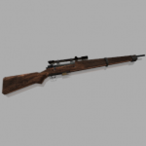 RE4 Bolt-action Rifle