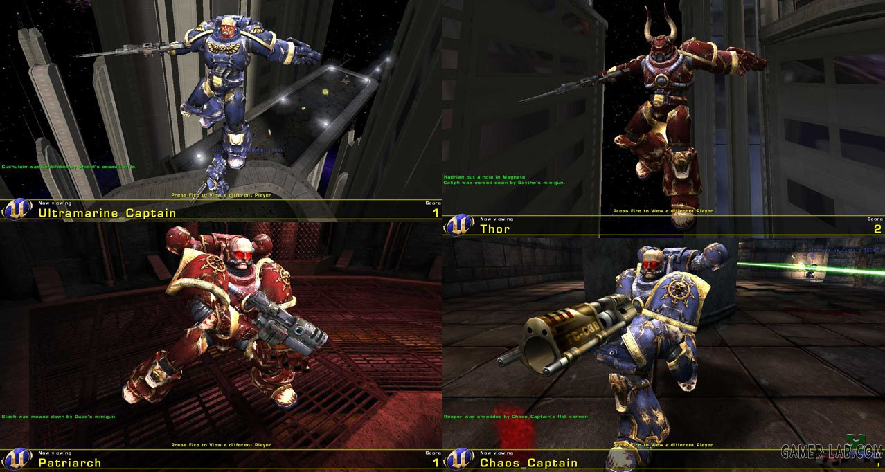 Warhammer 40.000 Player Models