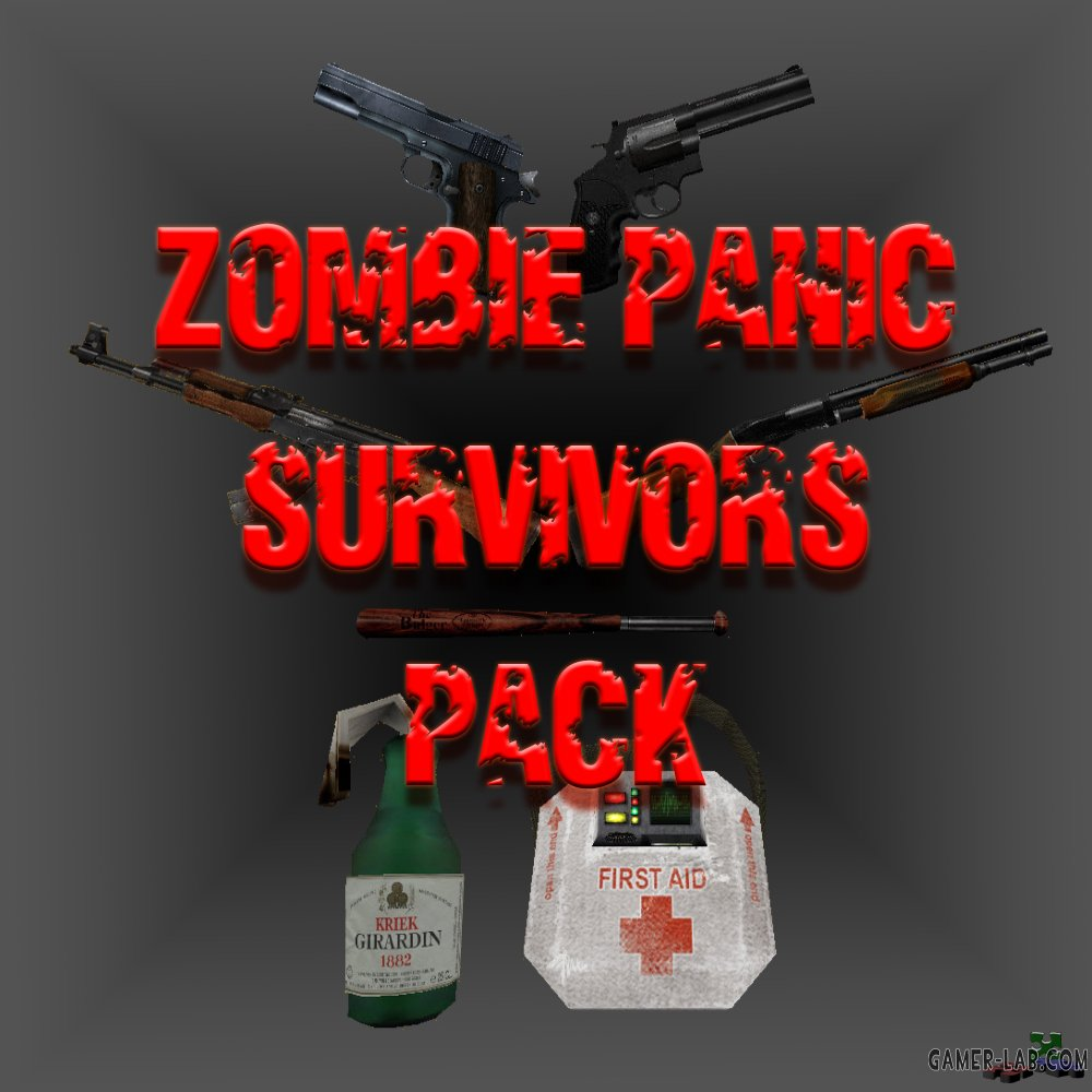 Zombie Panic Survivors Pack