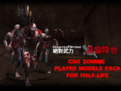 CSO Zombie Player Models Pack