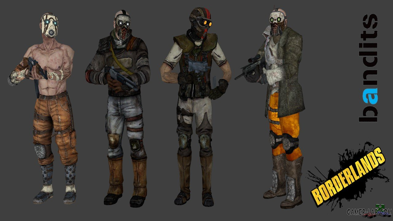 Borderlands bandits Pack