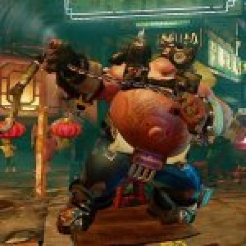Birdie as Roadhog (Overwatch) SFV