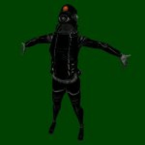 HL2 Beta Combine Assasin Black