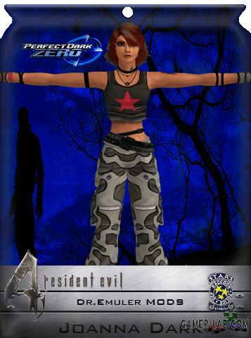 Joanna Dark - PD Zero Costume Pack