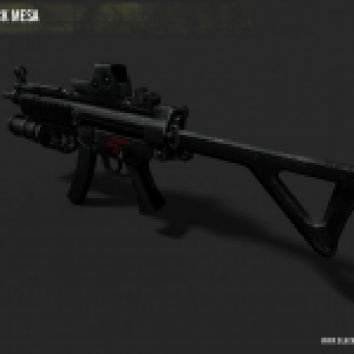BMS Alpha MP5 with GP-25 & EOTech