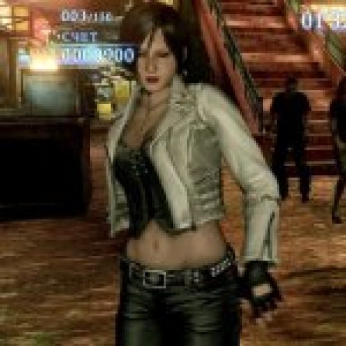 Carla Radames in White Jacket