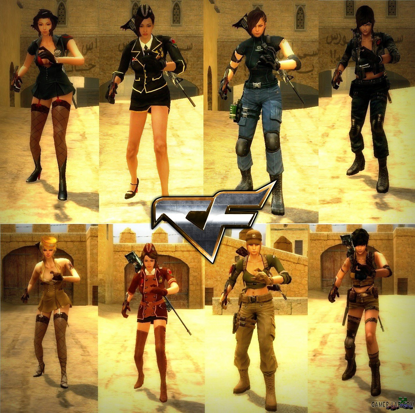 CF Female Character CT & T Pack