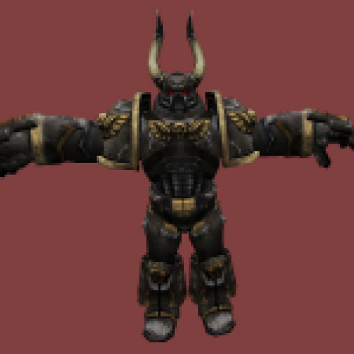 WH40k Chaos Space Marine