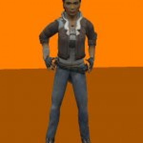 Alyx Vance HL2 for mod Azure Ship
