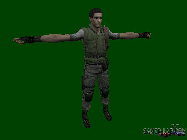 RE Chris Redfield