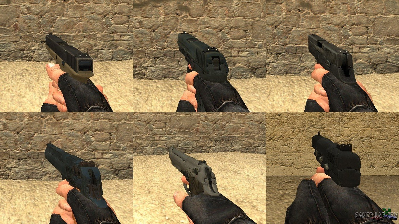 CS:GO Weapons Pack for CSS - Packs - Counter-Strike: Source - Weapon