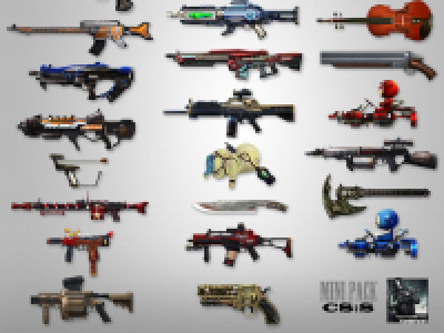 CSO Mini Weapons Pak for CSS