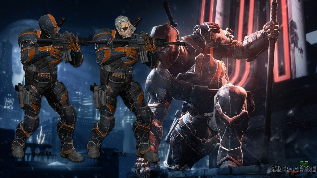 Batman: Arkham Origins Deathstroke