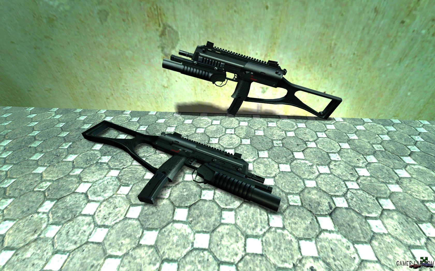 HK MP7 FIBLAH'S with M203