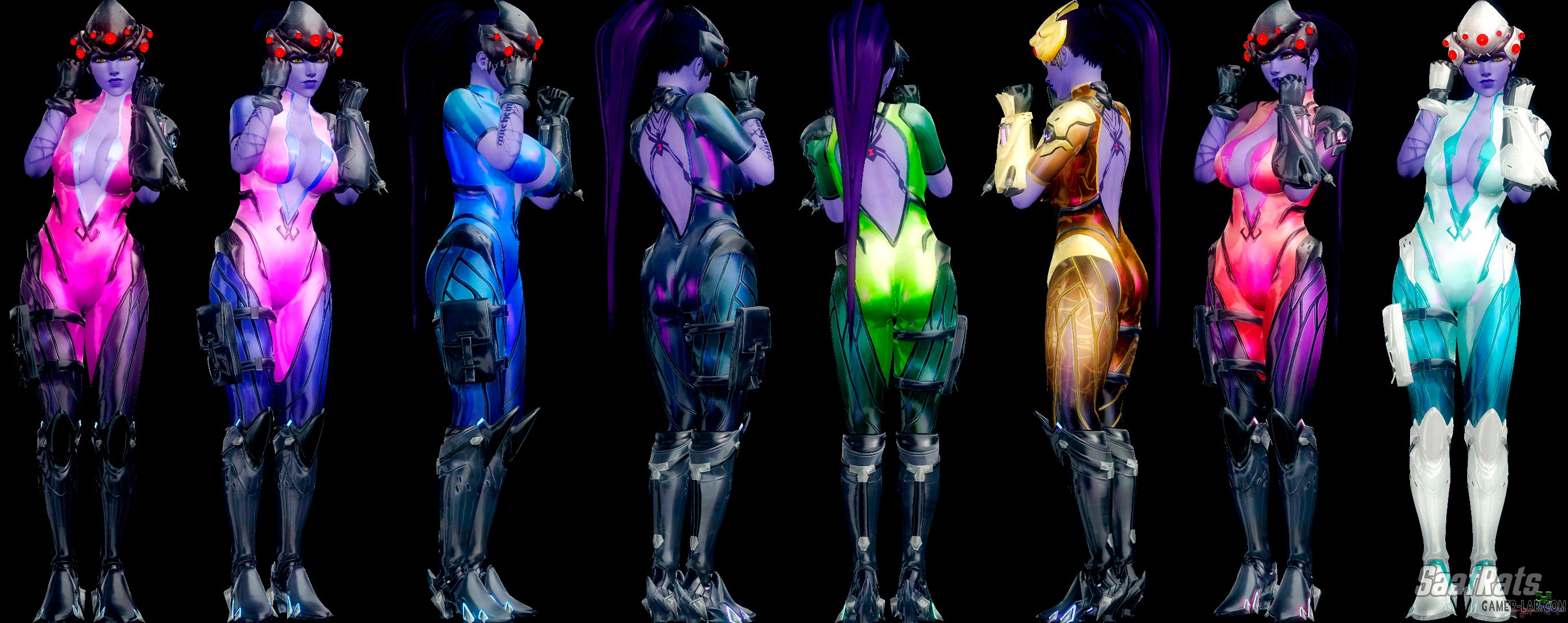 WIDOWMAKER - Default costume