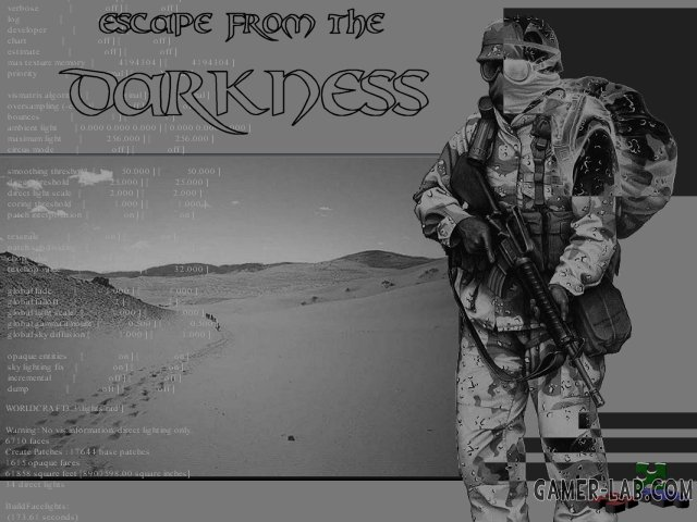 Escape from the Darkness