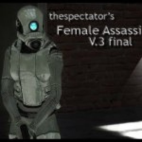 Female Assassin v.3 Replace Alyx