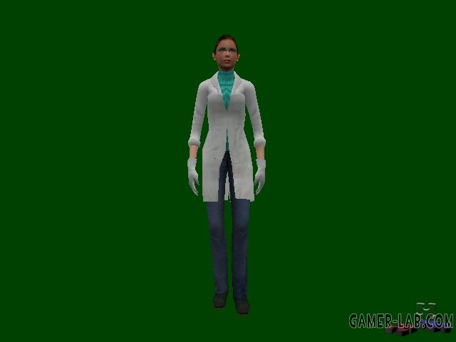 Female Scientist (Paranoia)