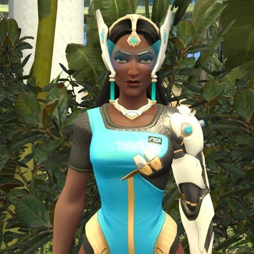 Overwatch Symmetra NPC and Playermodel