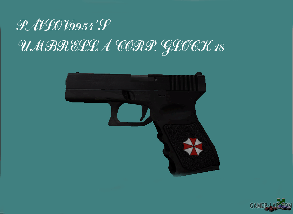 Glock 18 Umbrella corp.