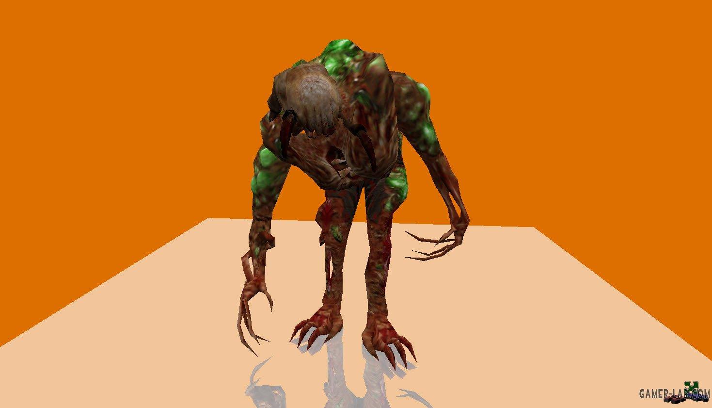 HD Gonome with HL2 headcrab
