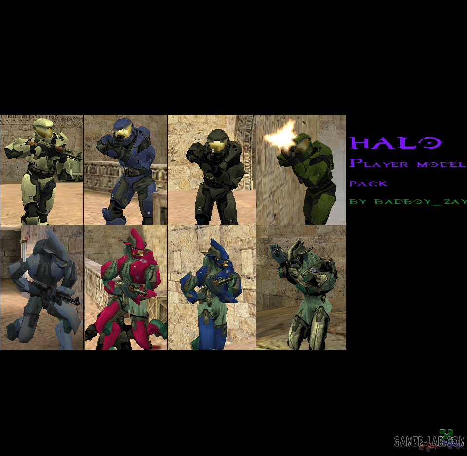 Halo player model