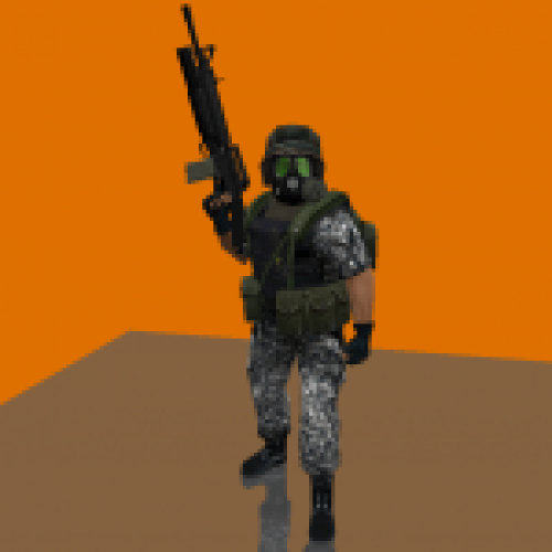 HD Grunt with M16A2