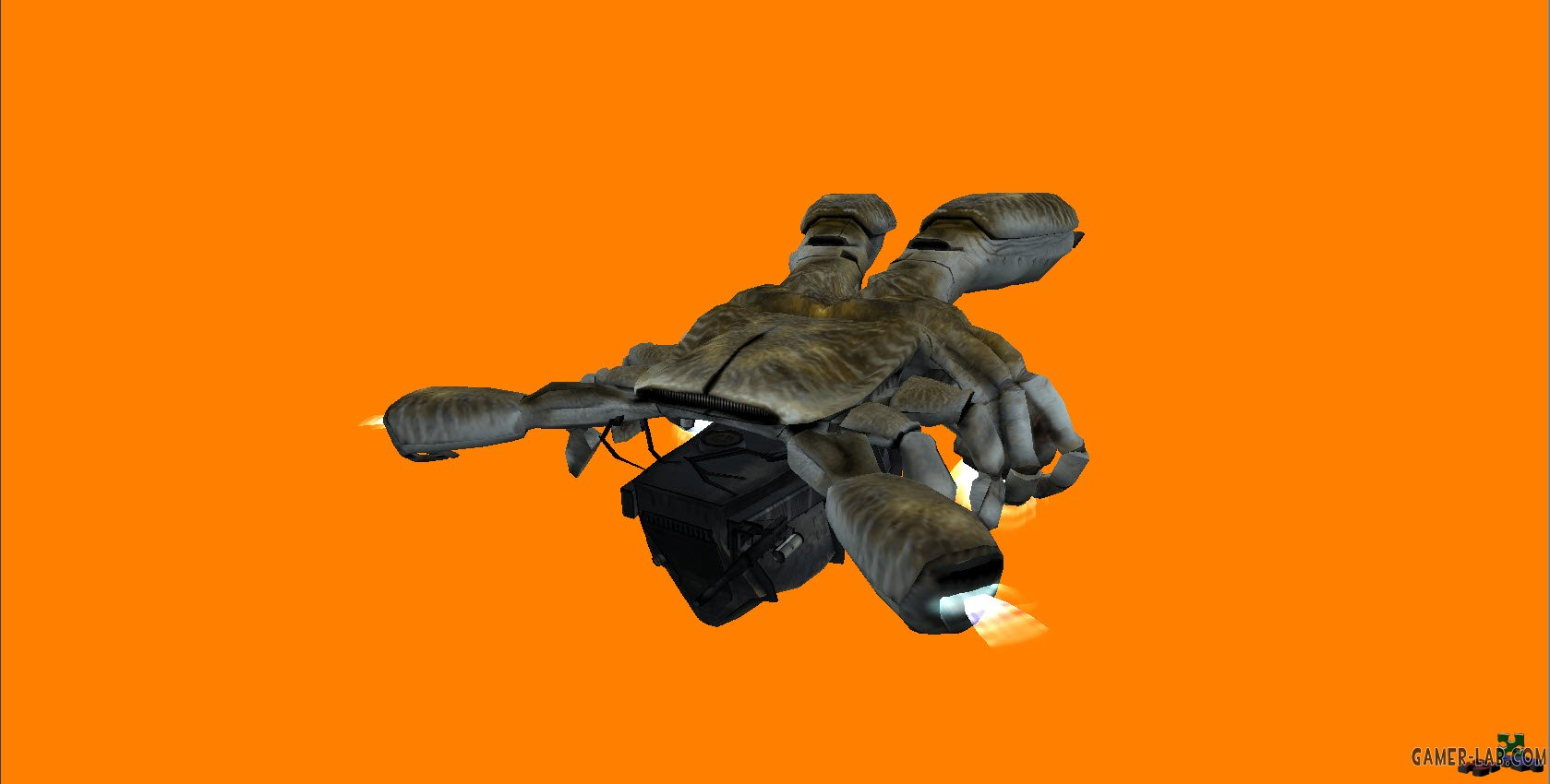 HL2 dropship for HL1 Osprey