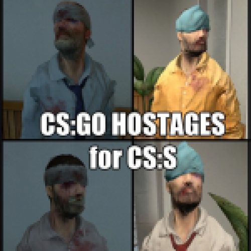 CS: GO Hostages for CSS