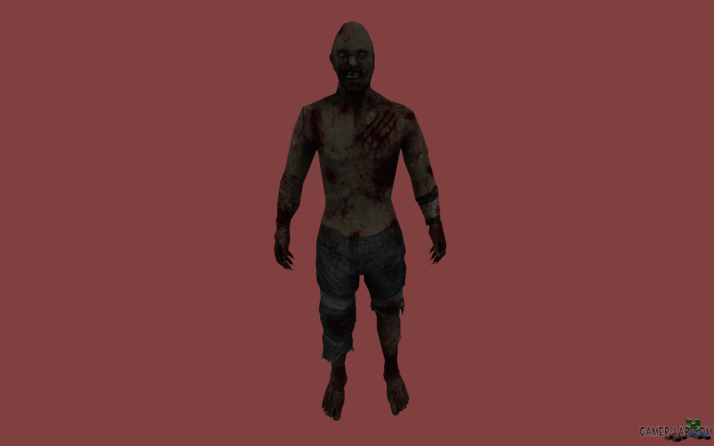 L4D2 Hunter Shirtless