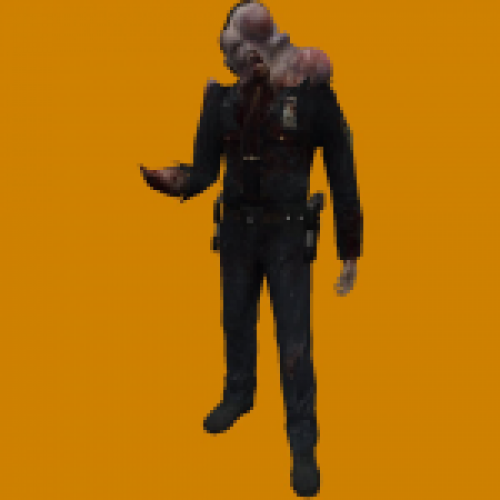 Prototype 2 infected cop