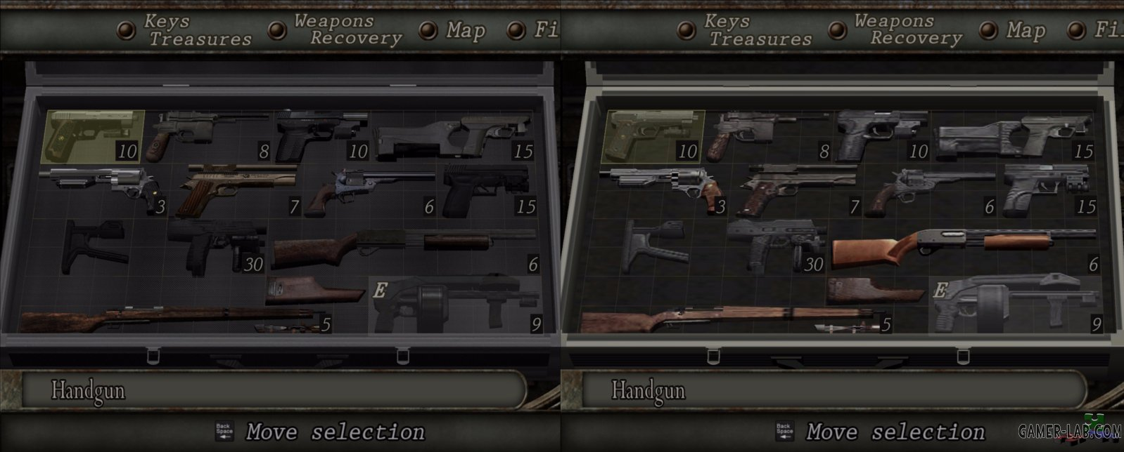 RE4UHD Reskins For All Guns