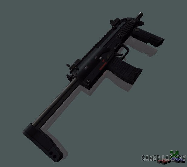 HK MP7A3 on sober anim
