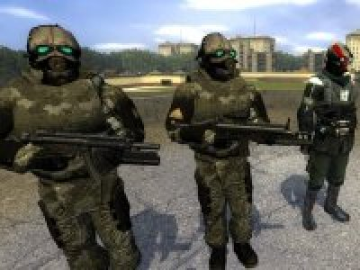 Military HL2 Weapon Skin Pack