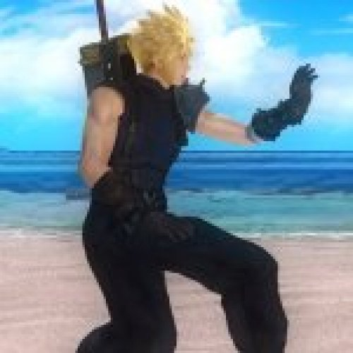 Eliot as Cloud FF7