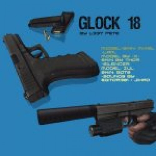 Glock 18 by L337-Pete