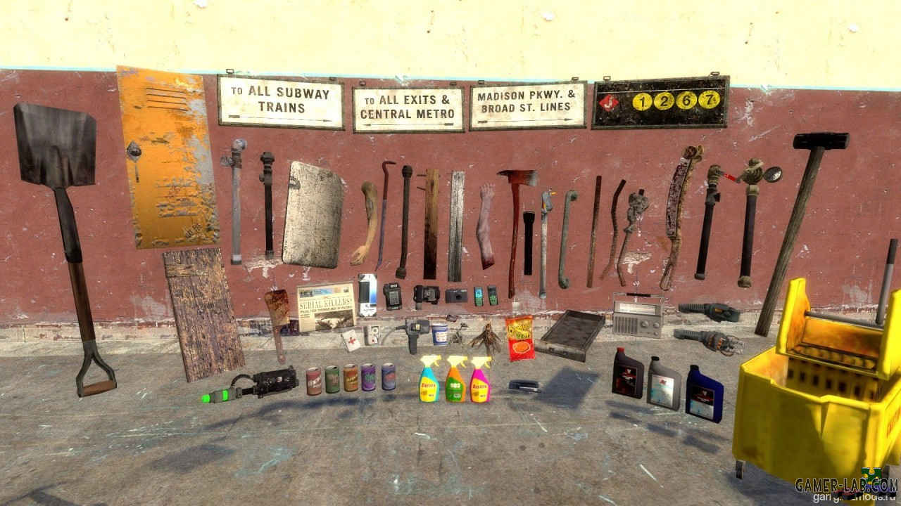 Condemned Props
